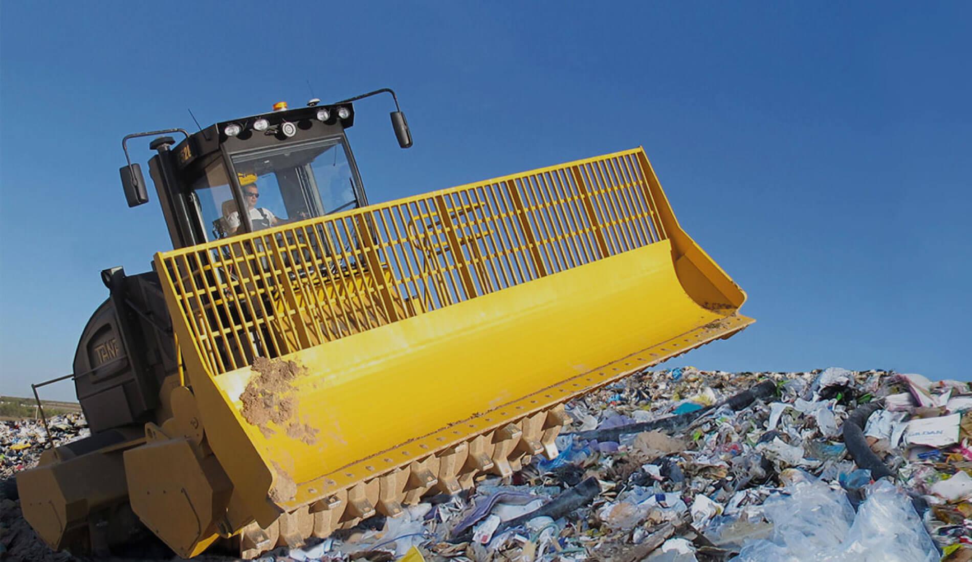 Strojevi za održavanje deponije